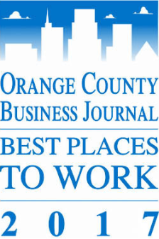 OCBJ, orange country business journal best places to work 2017