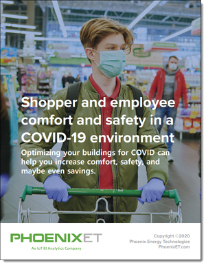 PhoenixET Shopper and Employee comfort and safety in a COVID-19 environment