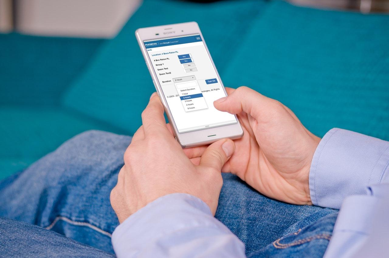 Virtual Override mobile