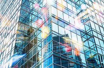 city_buildings_reflecting